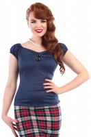 Dolores Top Navy