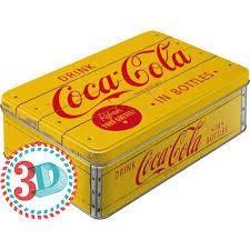Säilytyspurkki Flat 3D Coca-Cola in Bottles