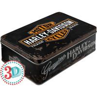 Säilytyspurkki Flat 3D Harley-Davidson logo