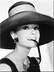Magneetti Audrey hepburn hattu