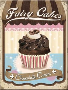 Magneetti Fairy Cakes Chokolate