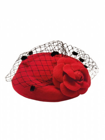 Jemima Hat Red