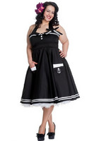 Motley 50`s Dress Black