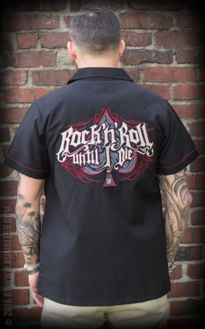 Worker Shirt Rock'n'Roll Until I Die