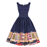 Delta Navy Carnaby Street Dress