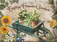 Magneetti English Flower Garden