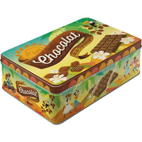 Peltipurkki chocolat