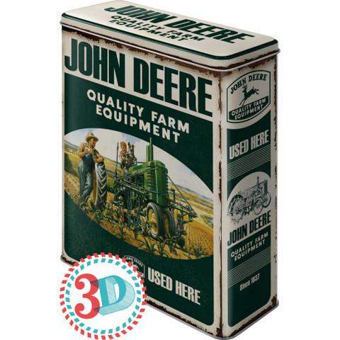 Peltipurkki XL John Deere