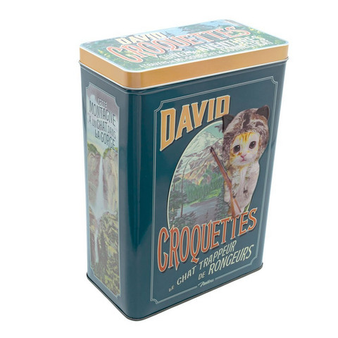 Peltipurkki David Croguettes