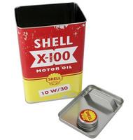 Shell x-100 Motor oil - peltipurkki