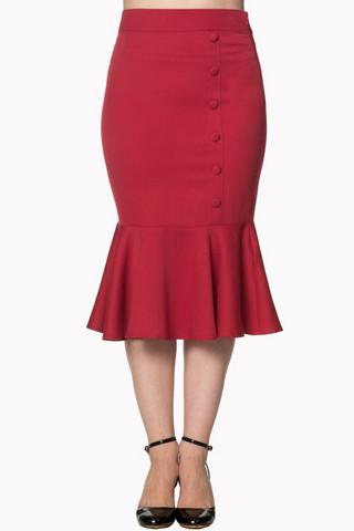 History Repeats Skirt Punainen