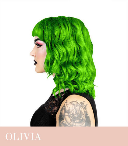 Herman's Amazing Olivia Green
