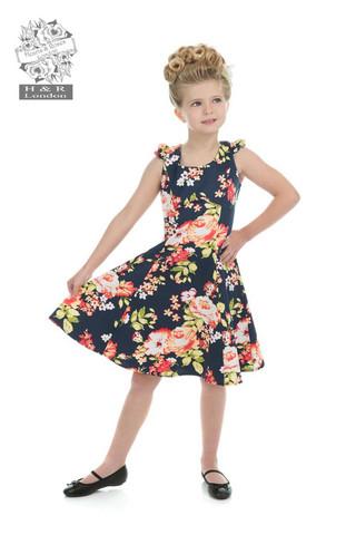 Mini Rockabella Jennifer Blue Kleid