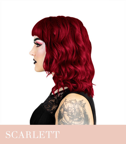 Herman's Amazing Scarlett Rogue Red