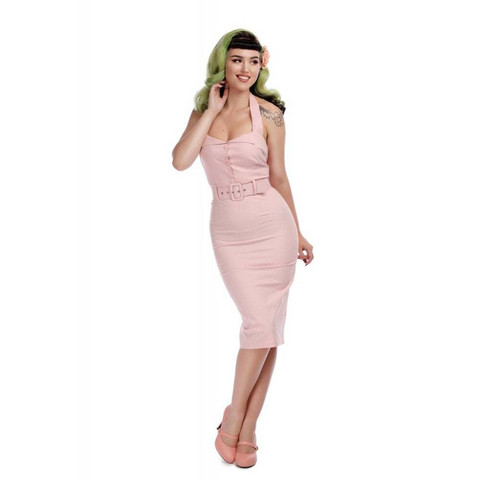 WANDA PLAIN PENCIL DRESS
