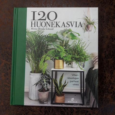 120 huonekasvia kirja
