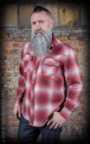 Flannel Shadow Plaid Shirt