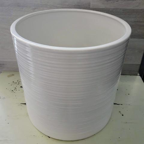 Simona ruukku valkoinen 26 cm
