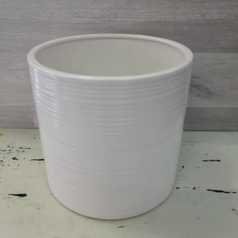 Simona ruukku valkoinen 17 cm