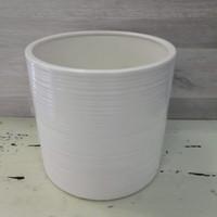 Simona ruukku valkoinen 19,5 cm