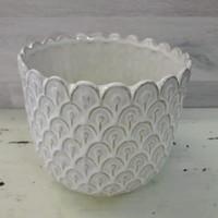 Tiril ruukku valkoinen 15 cm