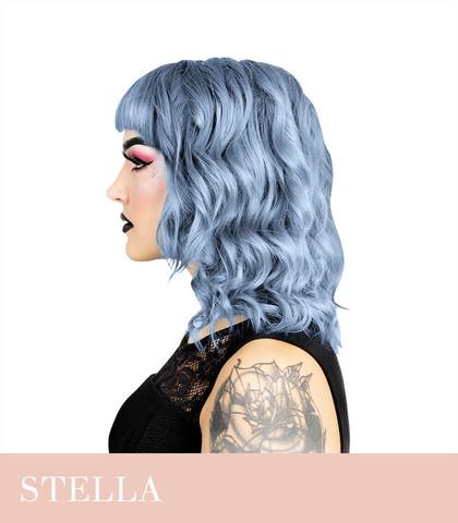 Herman's Amazing Stella Steel Blue Shokkihiusväri