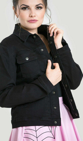 INDIANA JACKET Black