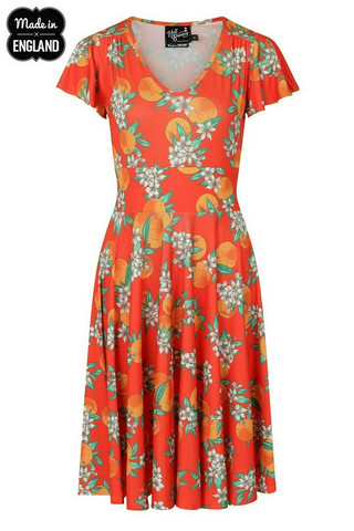 CASTELLANA DRESS orange