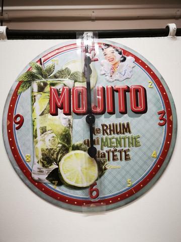 seinäkello Mojito