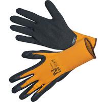 Käsine Comfort oranssi/musta