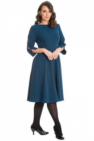QUEEN CHARM DRESS Blue