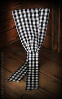 Haarband Vichy Musta/valko