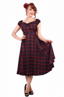 Dolores Tai Tartan Doll Dress Sini/Puna