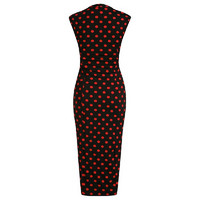 Margarita Black Red Bolka Dots