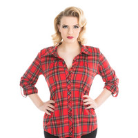Red Tartan Plaid Shirt
