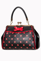 CRAZY LITTLE THING BAG BLK/RED
