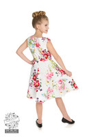 Rose Paradise Swing Dress in Kids