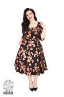 Metallic Magnolia Swing Dress Plus Size