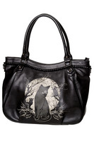 Hecate Black Cat Gothic Handbag