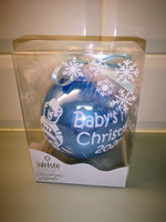 Baby's first christmas 2020 joulupallo