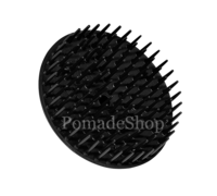 BALLOID HEAD MASSAGE BRUSH, BLACK