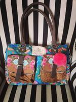 happines hand-sholders bag PEONIA