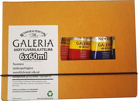 Galeria akryylisetti 6 x 60 ml