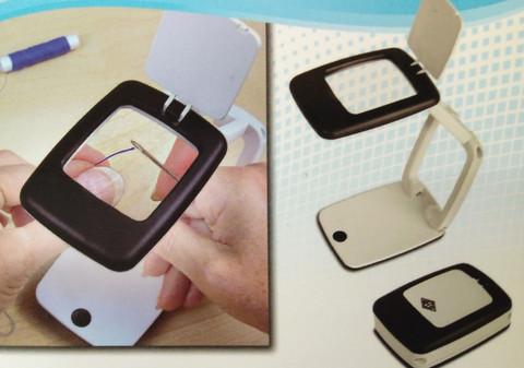 Suurennuslasi Pocket LED-valolla