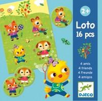 Lotto-peli, friends