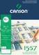 Canson 1557 piirustuslehtiö A3. 30 arkkia, 180 g