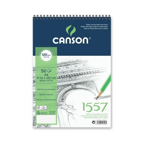 Canson piirustuslehtiö A3, 50 arkkia