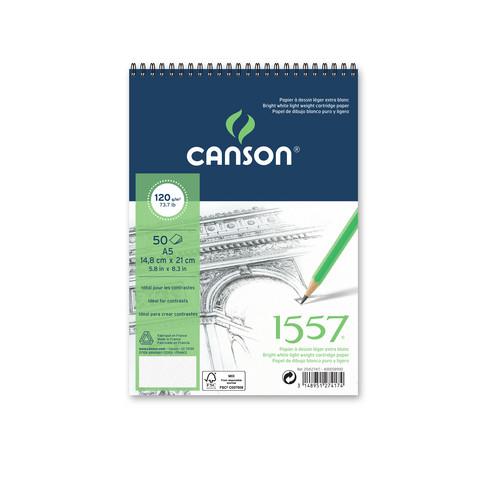 Canson 1557 piirustuslehtiö A5, 30 arkkia
