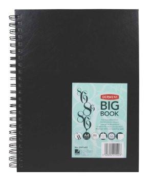 Derwent luonnoskirja, A4, Big book