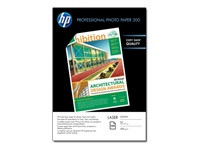 HP PROFESSIONAL LASER PHOTO PAPER 200G/M2 GLOSSY 100 KPL